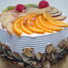 Mixed Fruit Almond